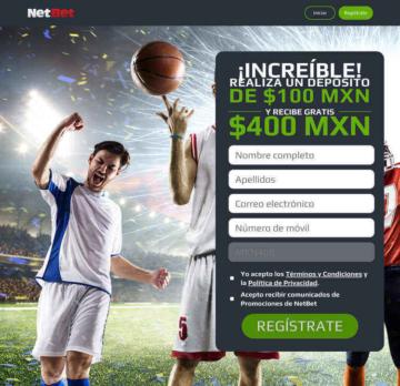 Bono de Bienvenida para Apuestas Deportivas en NetBet