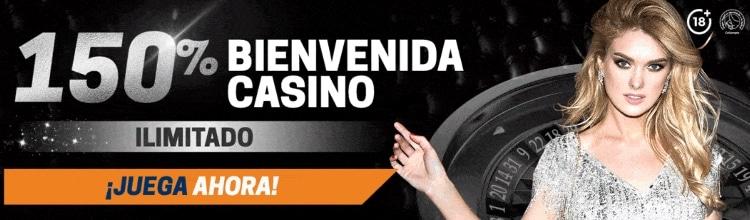 Rivalo bono de bienvenida captura de la interfaz de casino