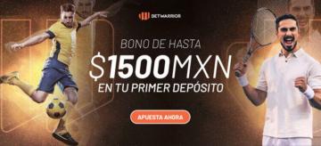 Betwarrior bono 1500 MXN deportes