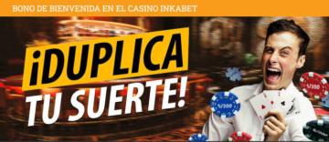Bono de bienvenida casino para Inkabet