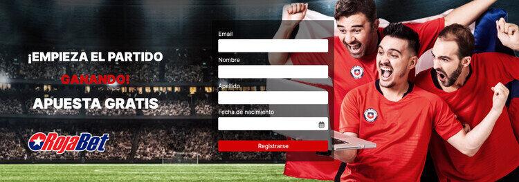Bono de bienvenida para apuestas deportivas en RojaBet