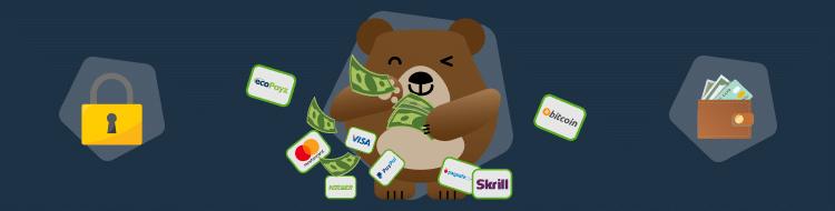 Imagen métodos pago seguros operador review apuestas