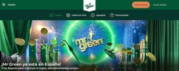 Mr Green aterriza oficialmente en España