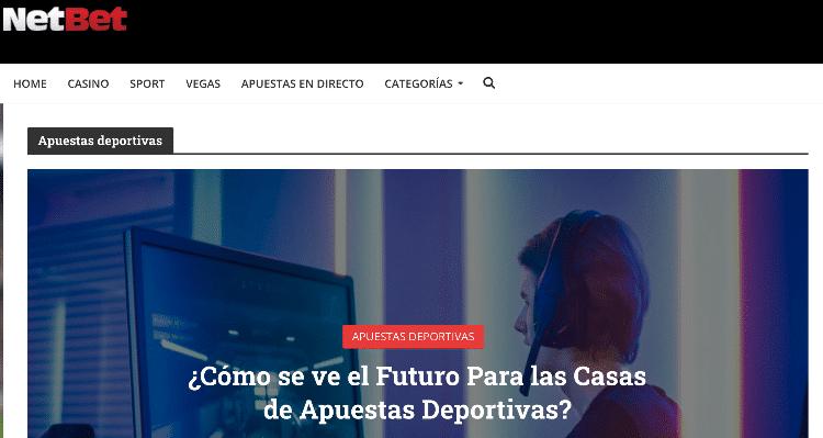NetBet tiene un blog con consejos de apuestas deportivas en México