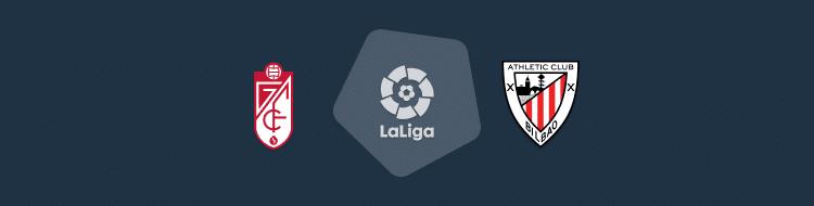 Cabecera del partido Granada vs Athletic de LaLiga 2020/21