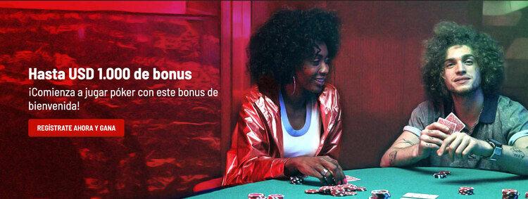 Bono de bienvenida Poker en Bodog
