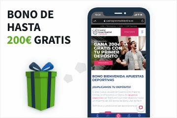 Galería bono apuestas Casino Gran Madrid