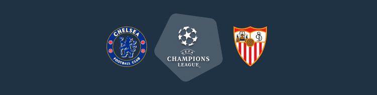 Cabecera del partido Chelsea vs Sevilla Champions 2020/21