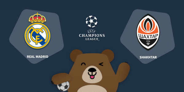 Link interno del Pronóstico Real Madrid vs Shakhtar de la UEFA Champions League