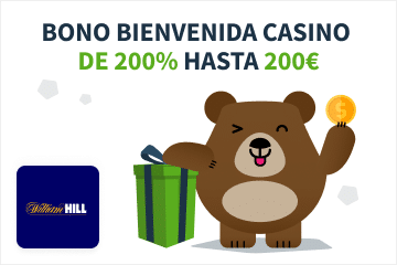 Galería bono casino William Hill