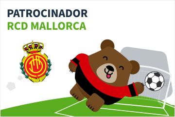 Patrocinador RCD Mallorca fútbol beto