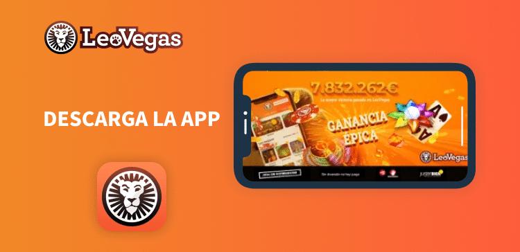 Leo Vegas Descarga la app