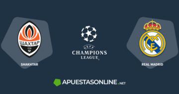 logo real madrid, champions league logo, shakhatar logo