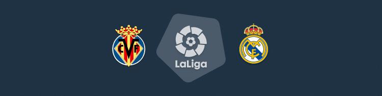 Cabecera del Villarreal vs Real Madrid de LaLiga 2020/21