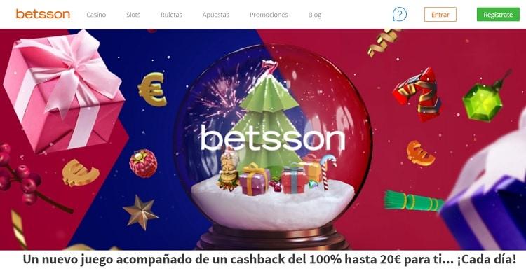 Bono Reembolso Navidad betsson