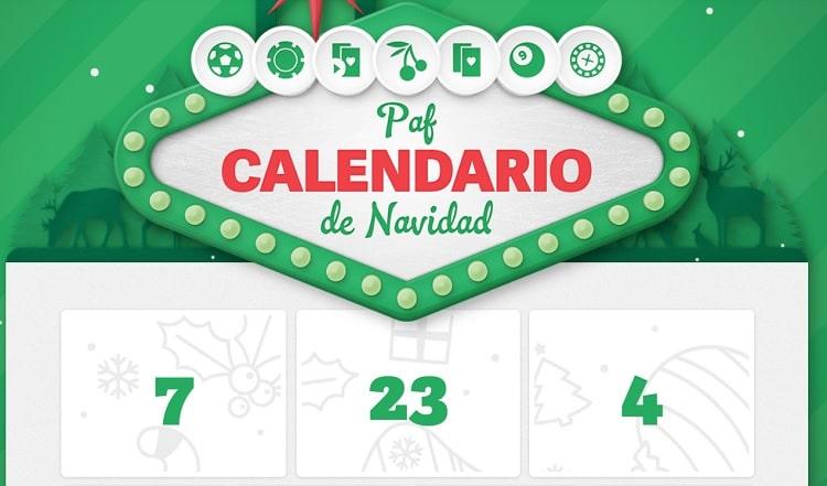 Calendario de Promociones de Paf
