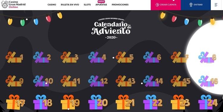 Casino Gran Madrid Online Navidad
