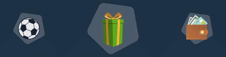 regalo, tarjeta, balon
