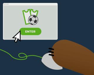 Bonos pasos para obtenerlos, Betto accede a la web del operador