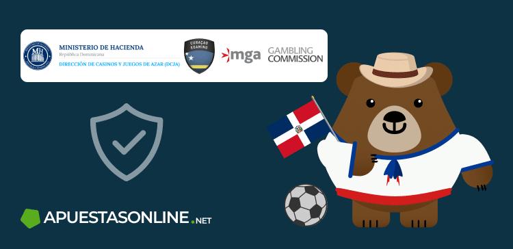 Logos de seguridad en las bancas deportivas de República Dominicana