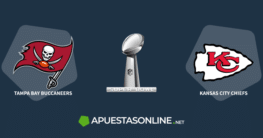 apuestasonline.net logo, super bowl logo, buccaneers logo,chiefs logo