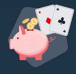 Depósito poker cartas