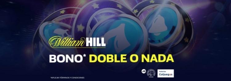 William Hill Colombia Casino bono
