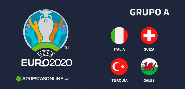 Grupo A EURO2020: Italia, Suiza, Turquía, Gales