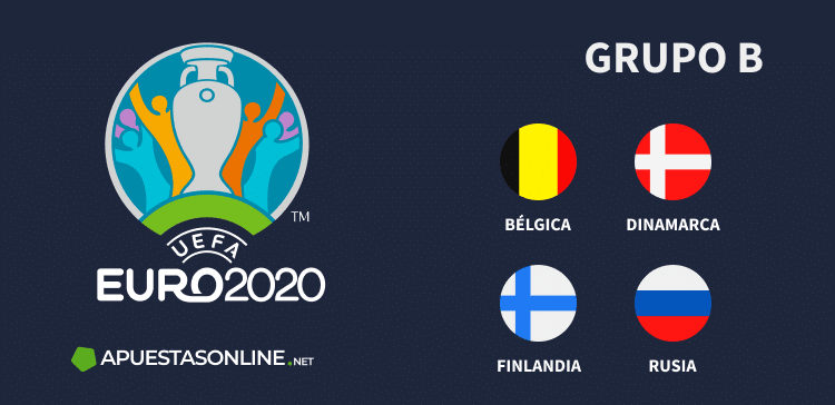 Grupo B EURO2020: Bélgica, Dinamarca, Finlandia, Rusia