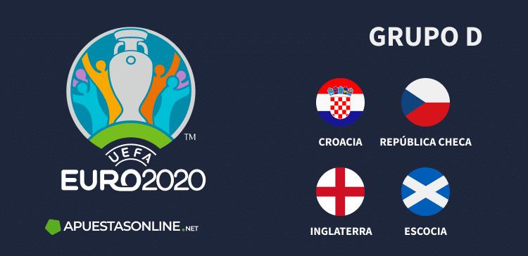 Grupo D EURO2020: Croacia, República Checa, Inglaterra, Escocia