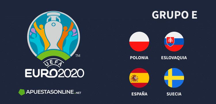 Grupo E EURO2020: Polonia, Eslovaquia, España, Suecia