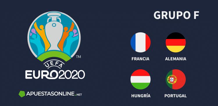 Grupo F EURO2020: Francia, Alemania, Hungría, Portugal