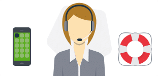 Servicio al cliente asesor chat en línea